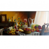 After meal - painting by Angeliki - 80x40 cm