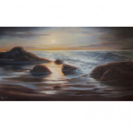 Every time - painting by Angeliki - 50x90 cm