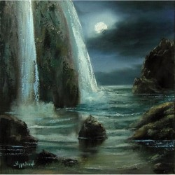 Nightscape - painting by...