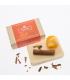 Organic soap with orange and cinnamon - 130 g