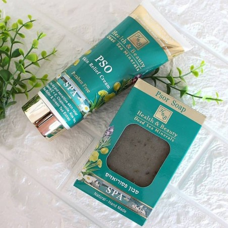 Soap and skin cream - SPA