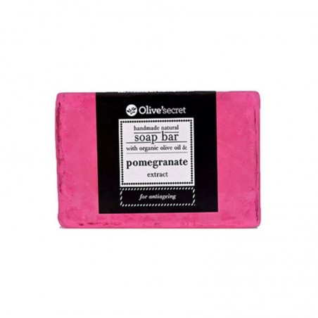 Soap with pomegranate - by Olive Secret - 100 gr