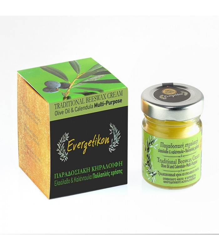 Traditional beeswax cream