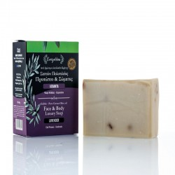 Olive oil face body soap...