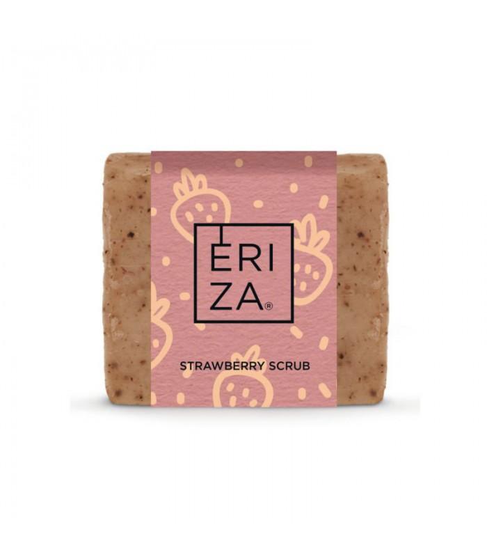 Handmade strawberry soap