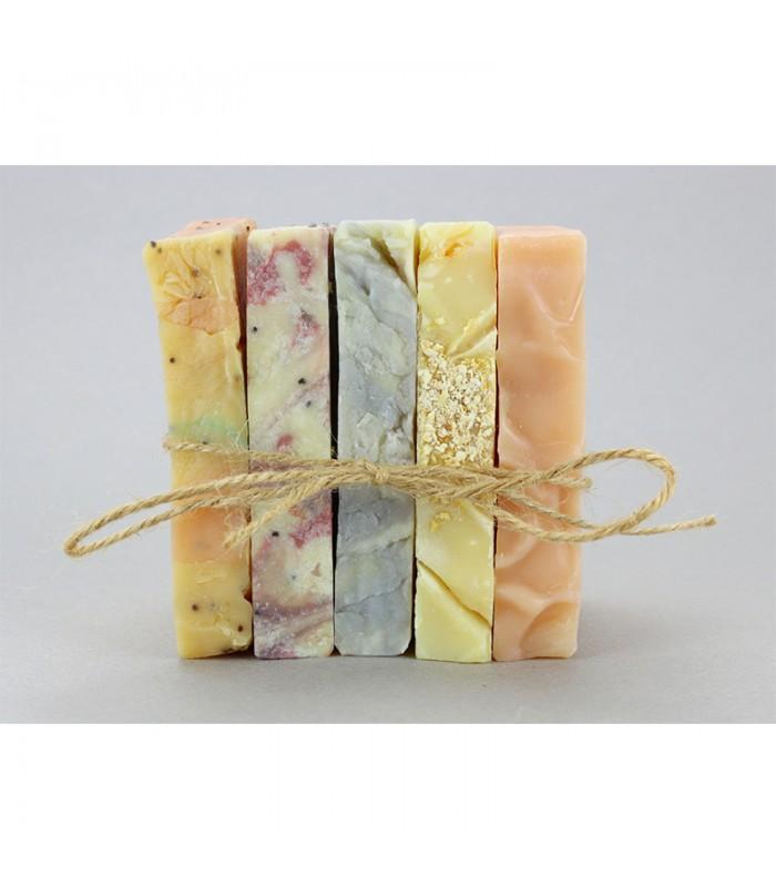Christmas gift set 5 soaps