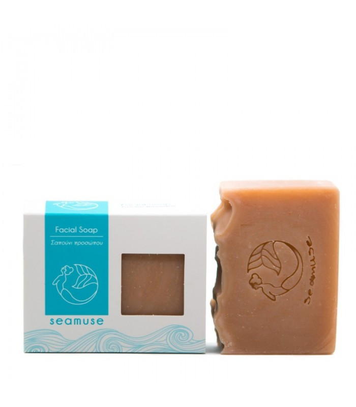 Facial Soap with Pink Clay