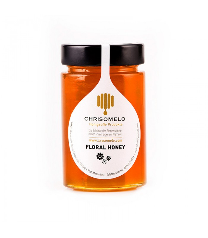 Chrisomelo blossom honey